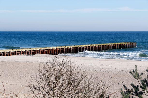 Ystadin alueelta löytyy ihania hiekkarantoja.