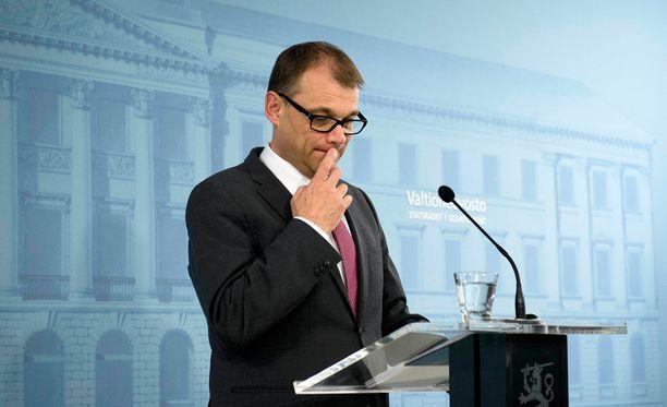Pääministeri Juha Sipilä patisti yliopistoja rakenteellisiin uudistuksiin.
