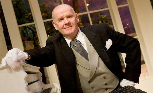 Näyttelijä Antti Litja palkittiin Betoni-Jussilla. Kuva vuodelta 2008.
