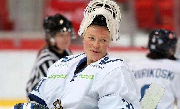Noora Räty pelasi melkoisen nollapelin.