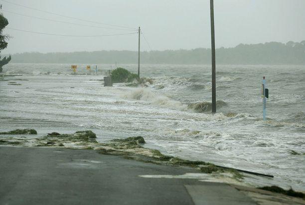 Alberto-nimiset myrskyt ovat aiemminkin aiheuttaneet tulvia muun muassa Floridassa. Arkistokuva.