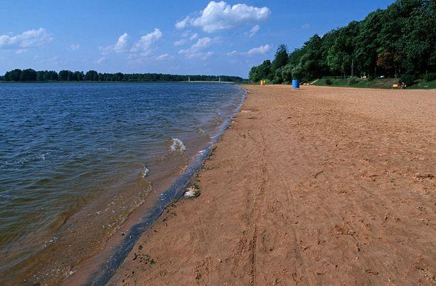 Tamulan ranta sopii hyvin lapsille.