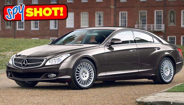 LÄHTÖKOHTA Uusien luksusautojen sarjan lähtökohtana on ollut Mercedeksen CLS, joka on uusiutumassa vuonna 2011.