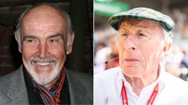 Sean Connery ja Jackie Stewart olivat pitkäaikaisia ystäviä.