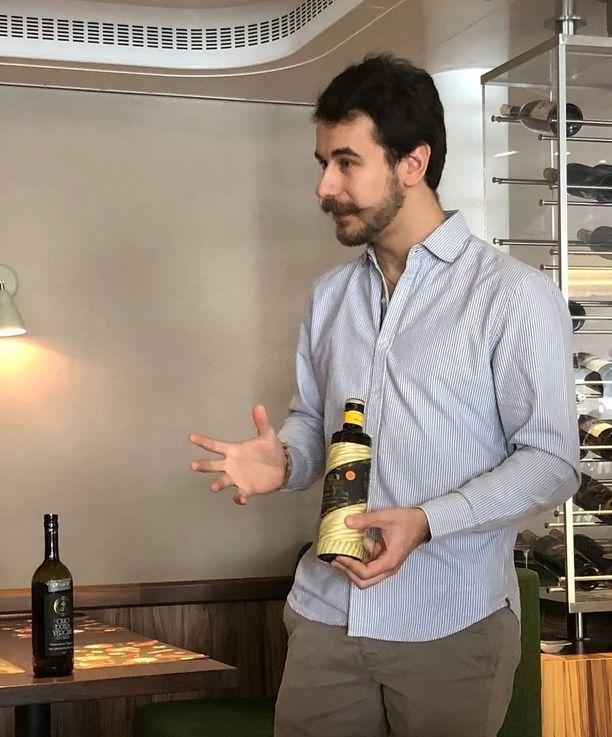 Paolo Boeri viljelee oliiveja viidennessä sukupolvessa.