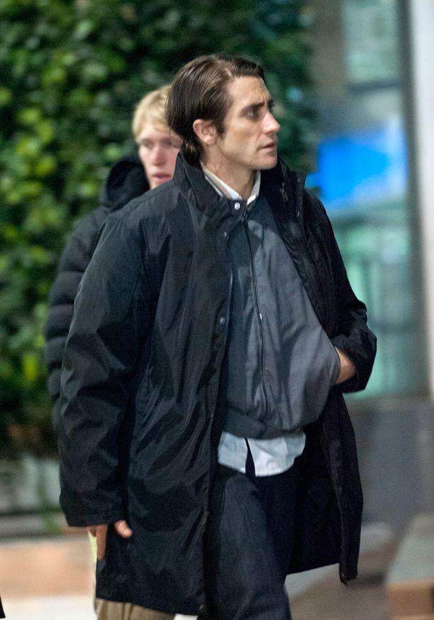 Hoikkaakin hoikempi Jake vuonna 2013 Nightcrawler-leffan kuvauksissa.