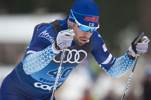 Lari Lehtosella elää vaikeita aikoja Tour de Skillä.