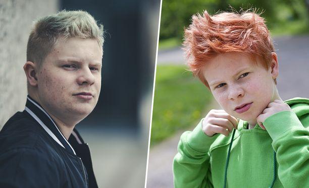 Samuel Shipwayn hiukset olivat elokuvissa punaiset vain hiusvärin ansiosta.