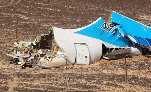 Venäläisen matkustajakoneen maahansyöksyn Egyptissä aiheutti terroriteko.