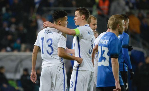 Niklas Moisanderin maajoukkueura päättyi viime marraskuussa.