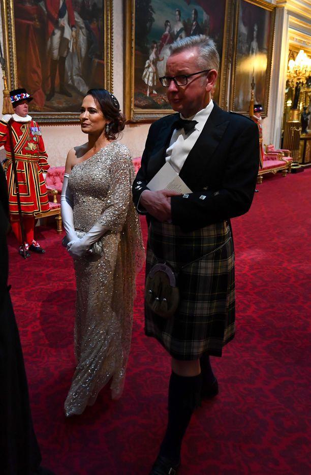 Stephanie Grisham oli mukana Yhdysvaltain presidenttiparin Britannian virallisella valtiovierailulla kesäkuun alussa.
