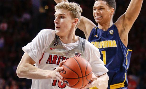 Lauri Markkanen on tehnyt vakuuttavaa jälkeä yliopistosarja NCAA:ssa.
