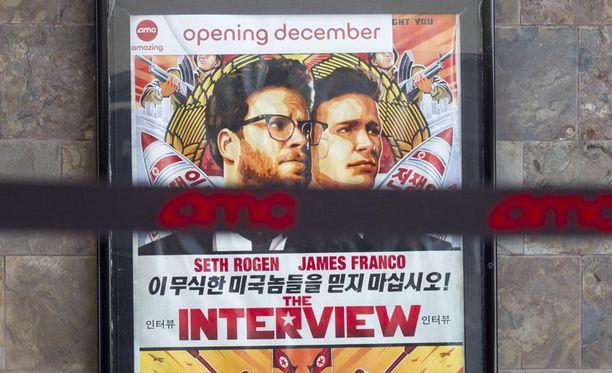 The Interview'n oma juoni tuskin vetää vertoja oikealle jännitysnäytelmälle sen ympärillä.