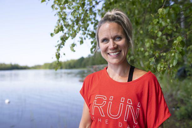 Maiju Jokinen asuu nykyään poikiensa kanssa Jyväskylässä.