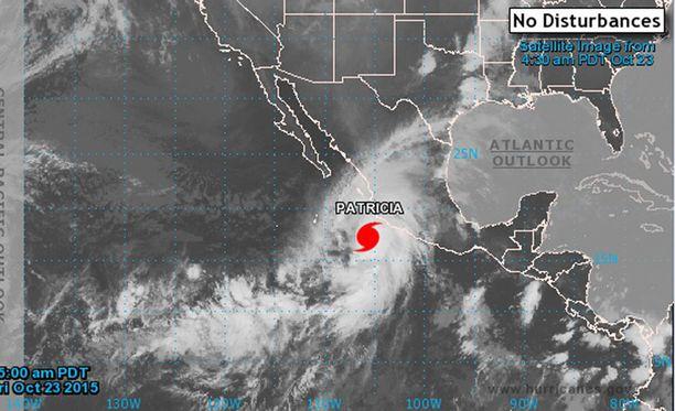 Patricia on mittaushistorian voimakkain hurrikaani maailmassa ja läntisen pallonpuoliskon rajuin hirmumyrsky.