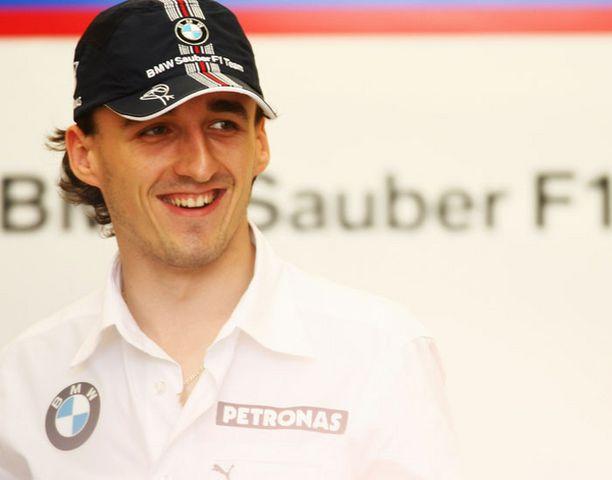 Robert Kubica haaveilee ensimmäisestä GP-voitosta.
