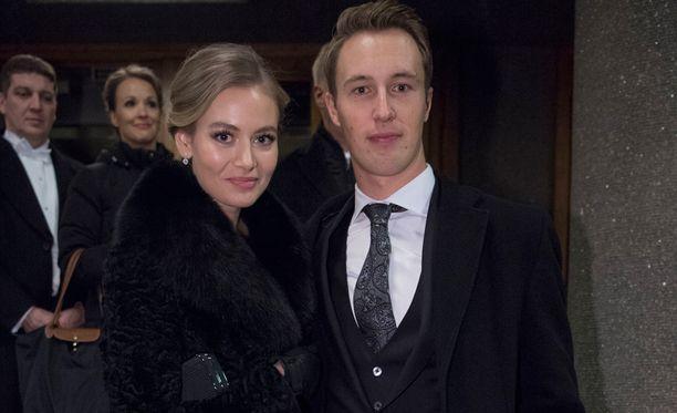 Emilia Saksman ja Henri Kontinen.