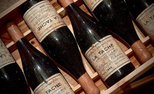 David Salomon oli maksanut seitsemästä pullosta Domaine de la Romanée-Contin punaviiniä yli 100 000 euroa.