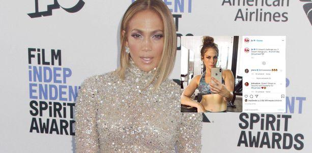 Jennifer Lopezin tuore selfie on saanut osakseen odottamatonta huomiota.