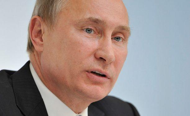 Venäjän presidentin Vladimir Putinin nimi päätyi poliisin tiedustelulistalle.