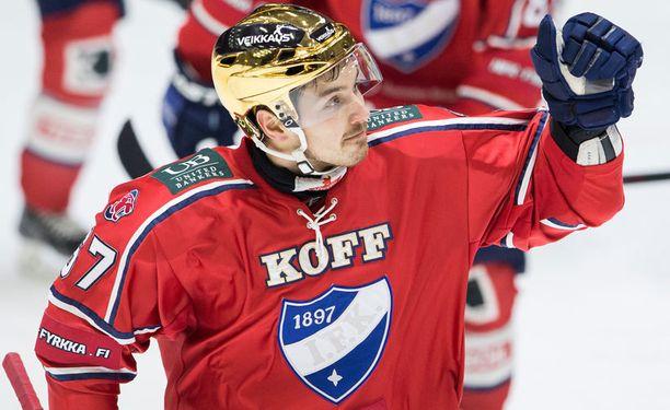 Tomas Zaborsky vahvistaa IFK:ta myös ensi kaudella.