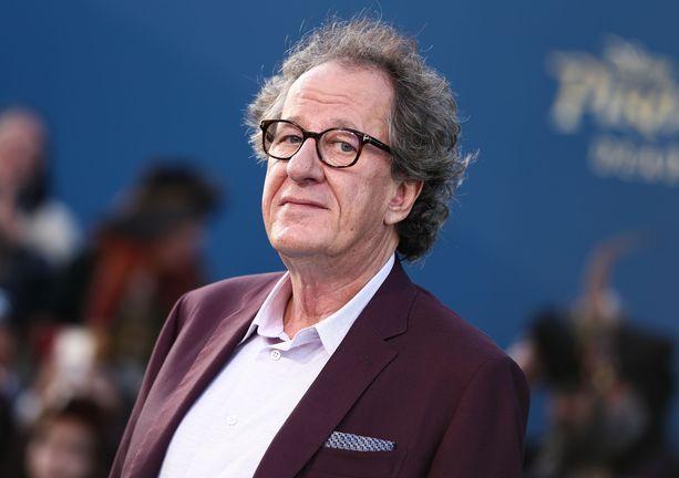 Geoffrey Rush palkittiin 1997 parhaan miespääosan Oscarilla elokuvasta Loisto.