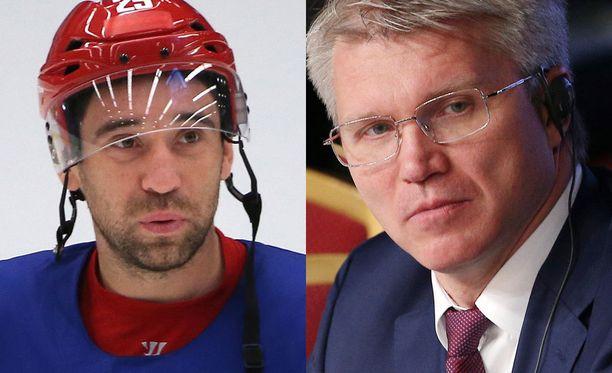 Venäjän urheiluministeri Pavel Kolobkov ärähti kuultuaan Zaripovin dopingrikkomuksesta.