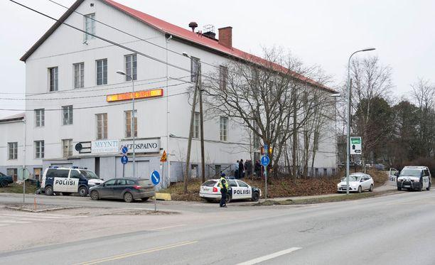 Ruumis löydettiin rakennuksesta, jossa sijaitsee myös moottoripyöräkerho Bandidoksen kerhotilat. Arkistokuva.