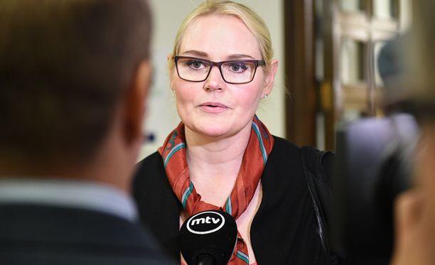 Veera Ruoho erosi perussuomalaisten eduskuntaryhmästä puoluekokouksen jälkeen reilu pari viikkoa sitten.