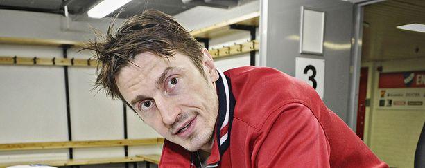Ville Peltonen menetti viime vuoden MM-turnauksen loukkaantumisen takia.