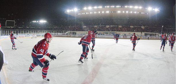 HIFK voitti talviklassikon.