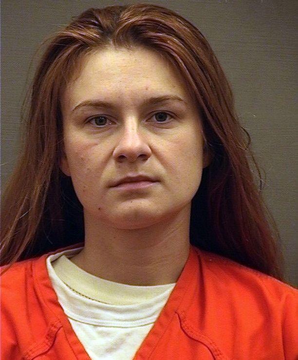 Venäjän vakoojaksi epäilty Maria Butina pidätettiin heinäkuussa.