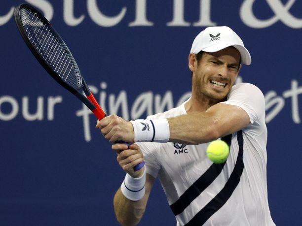 Andy Murrayn ilme oli todennäköisesti aika lähellä tätä, kun hän tajusi virheensä.