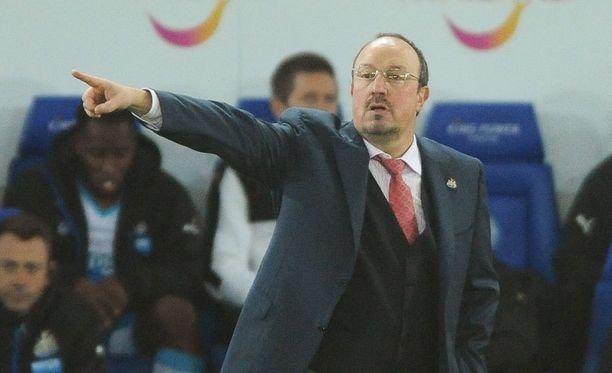 Rafael Benitezin Newcastlen uskotaan piristyvän.
