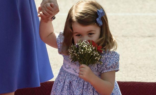 Charlotte on moderni prinsessa.