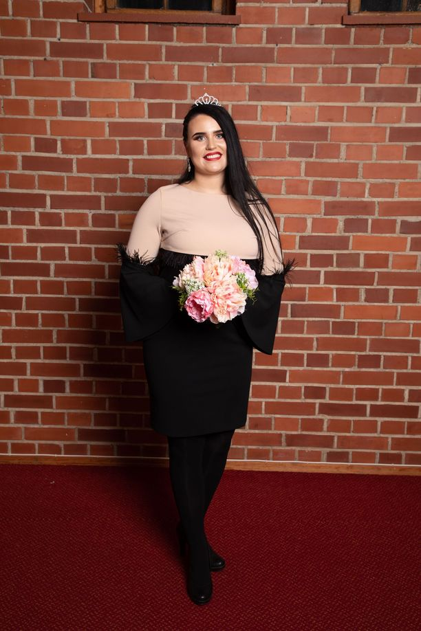 Miina Varjonen on uusi Miss Plus Size.
