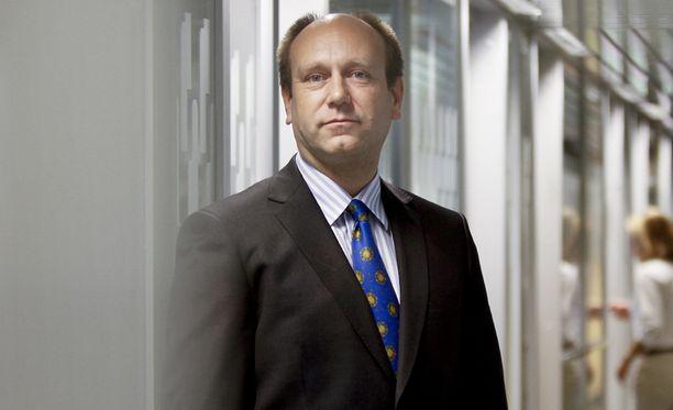 Finnfundin toimitusjohtaja Jaakko Kangasniemi.