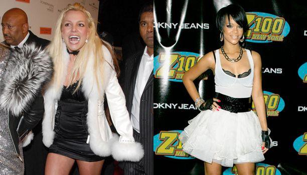 Britney oli tittelin itseoikeutettu voittaja. Rihannan mekon alta pilkistävät mustat rintaliivit ja alushame olivat tyylirikko Zootopia-tilaisuudessa.