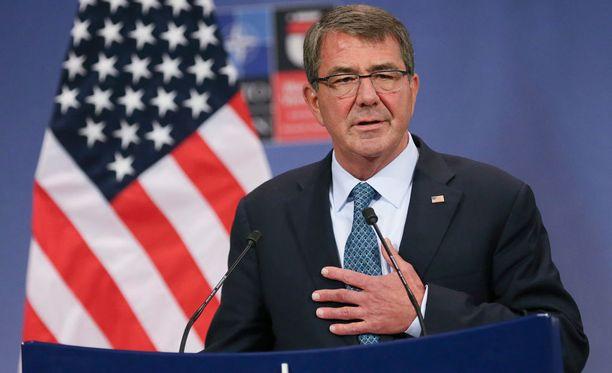 Yhdysvaltain puolustusministeriötä johtaa puolustusministeri Ashton Carter.