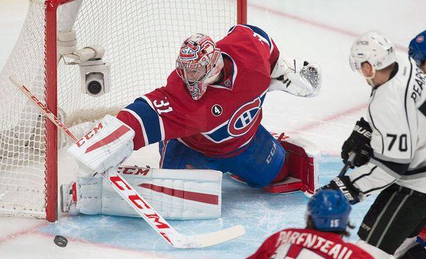 Montreal-vahti Carey Price valittiin ansaitusti ottelun parhaaksi pelaajaksi.