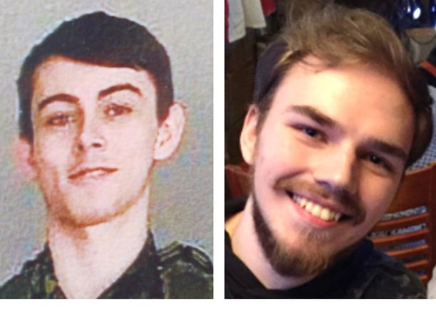 Bryer Schmegelskyn, 18, ja Kam McLeodin, 19, uskotaan kuolleen. Nuoria epäillään kolmesta murhasta Kanadassa.