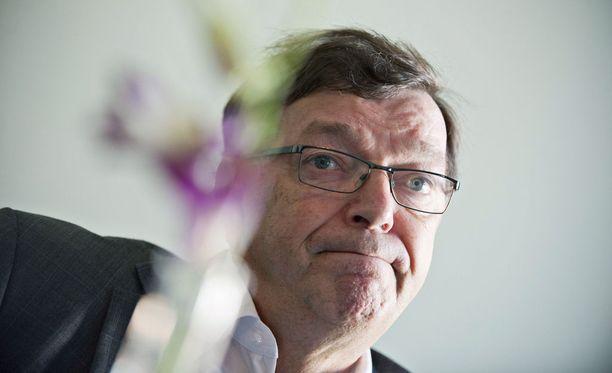 Paavo Väyrynen on yksi eniten poissaoloja kerännyt Helsingin kaupunginvaltuutettu.
