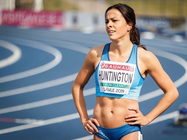 Maria Huntingtonin EM-kisat päättyivät ennen aikojaan.
