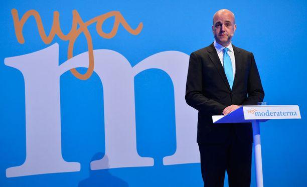 Ruotsin pääministeri Fredrik Reinfeldt ilmoitti eroaikeistaan heti vaalituloksen selvittyä.
