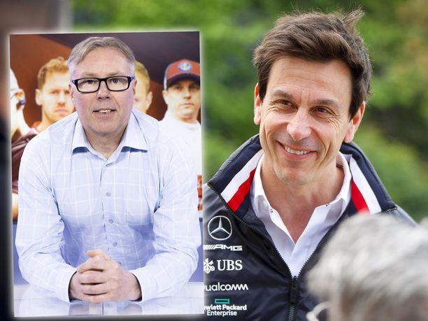 Iltalehden F1-asiantuntija Jyrki Järvilehto ihastelee Toto Wolffin johtaman tallin toimintaa.