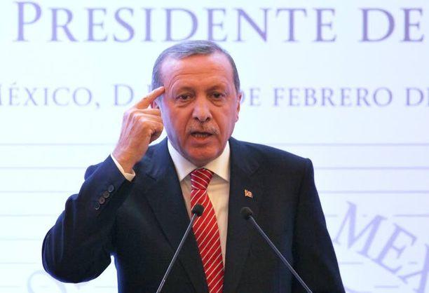 Turkin presidentti pelkää joutuvansa myrkytetyksi.