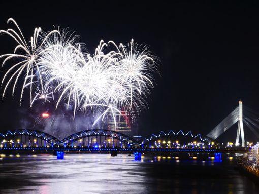 Riika on mainio paikka juhlia uutta vuotta.