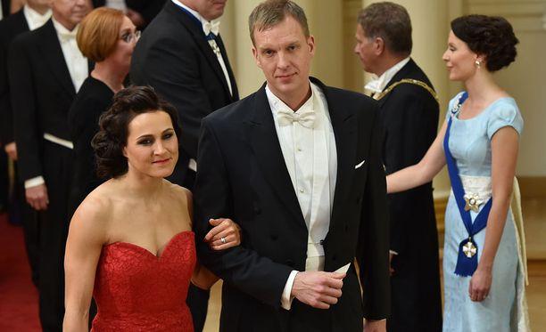 Aino-Kaisa Saarinen ja Tom Gustafsson ovat olleet naimisissa vuodesta 2012 lähtien.