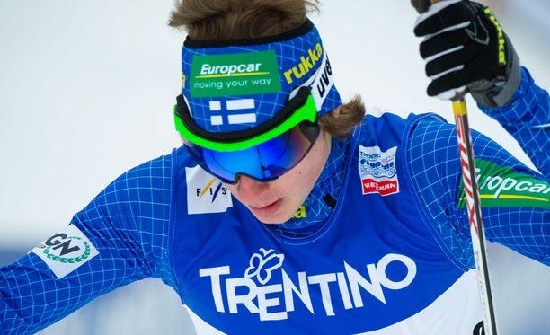 Ilkka Herola sijoittui kahdeksanneksi Ramsaussa.