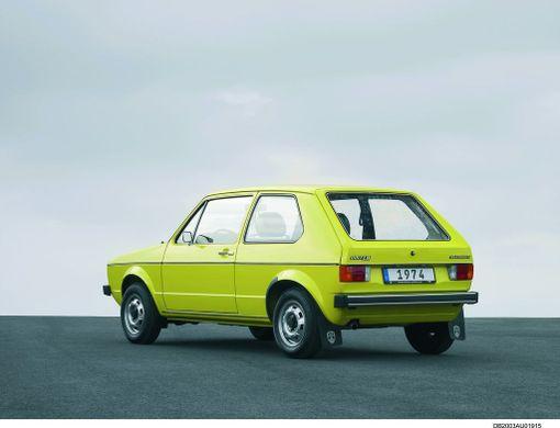 Saksan Liittotasavallan kansanauto ja myyntitykki 70-luvun lopulla oli ensimmäisen sukupolven Golf.